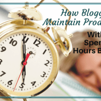 How Can Bloggers Maintain Productivity Without Spending Hours Blogging