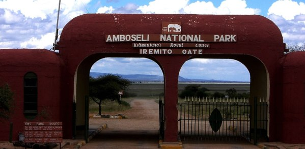 Amboseli National Park Entrance
