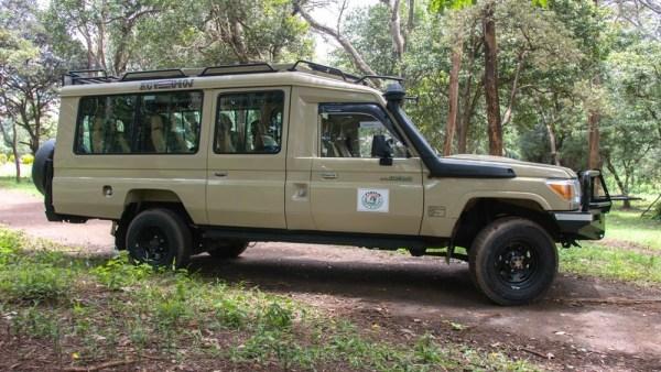 Penfam Tours and Safari 4x4 Kenya Safari Landcruiser