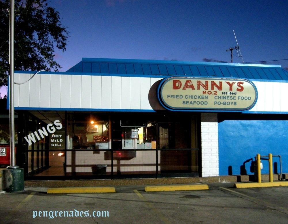 Dannys No.2 fast food in New Orleans