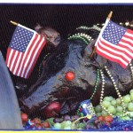 patriotic pig feast photo