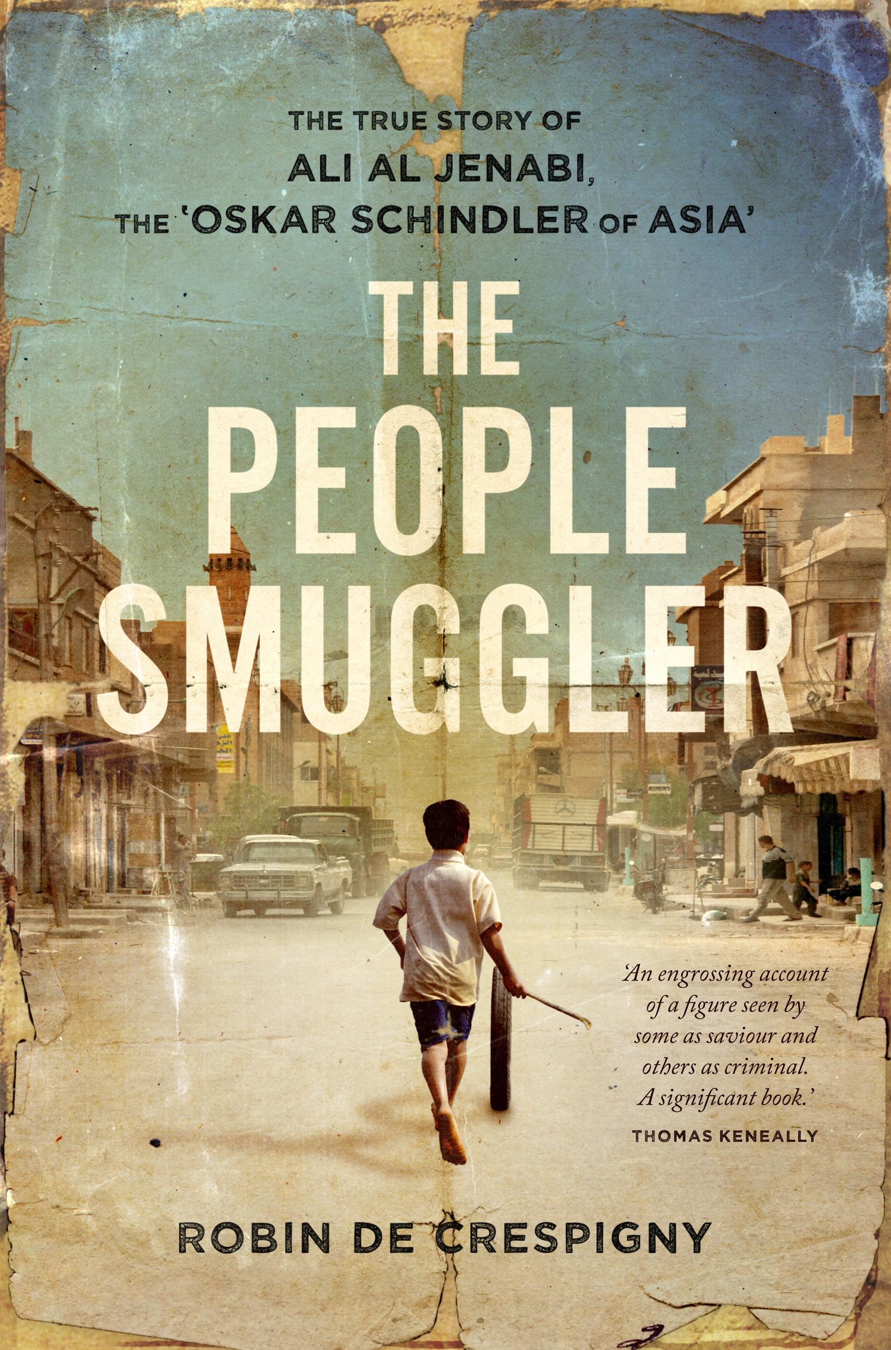 Book Cover: The People Smuggler: The True Story of Ali Al Jenabi