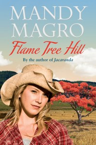 Book Cover:  Flame Tree Hill