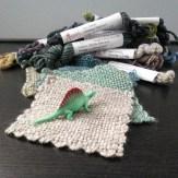 yarn sample swatches