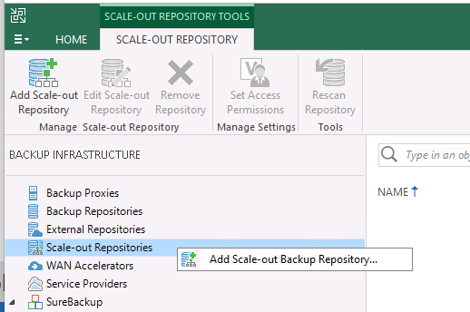 Veeam Basics – Configuring A Scale-Out Backup Repository