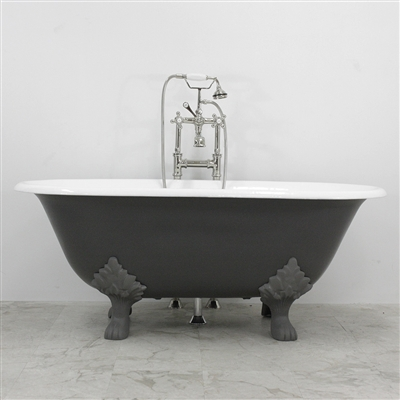 Greyfriars 61 Cast Iron Double Ended Tub Package