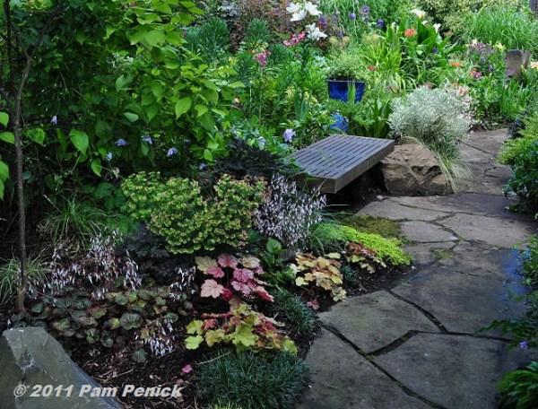 shade garden path ideas Birrell garden at Seattle Garden Bloggers Fling | Digging