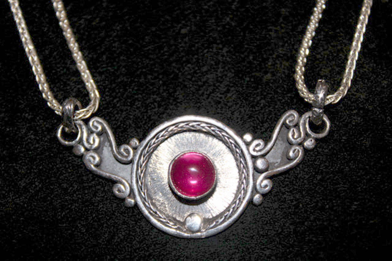 Roberto Costas Ribiero's silver jewelry is on display at Gallery 9 in Port Townsend.