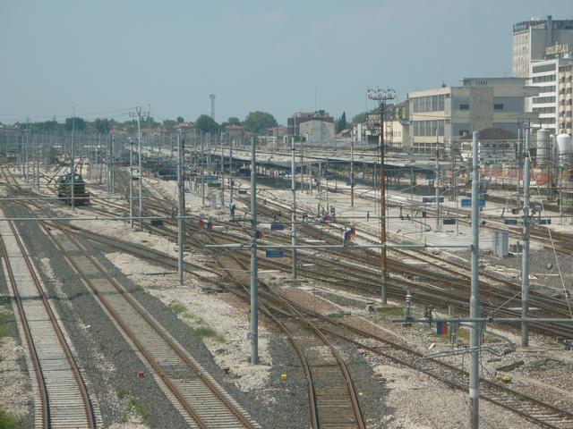 Mestre station, Venice Photo: Wikipedia