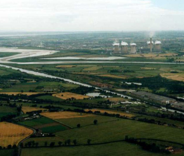 View Of River Mersey
