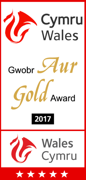Visit Wales 5* accreditation