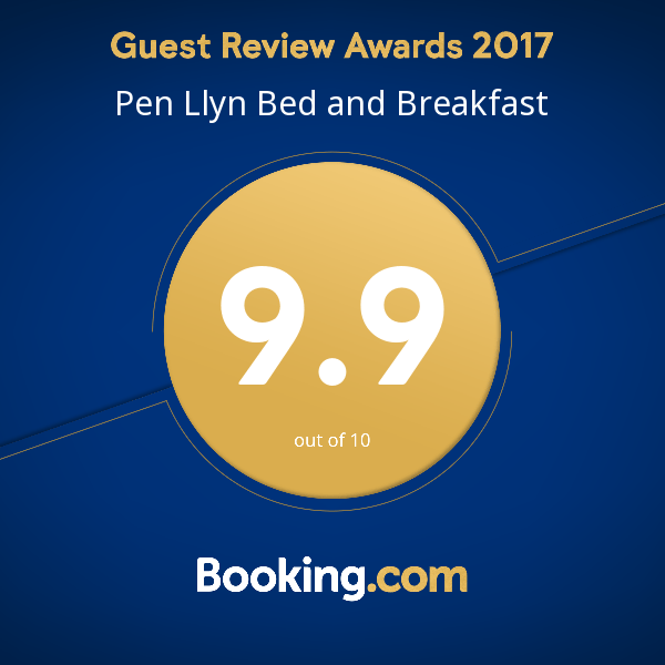 booking.com award for B&B