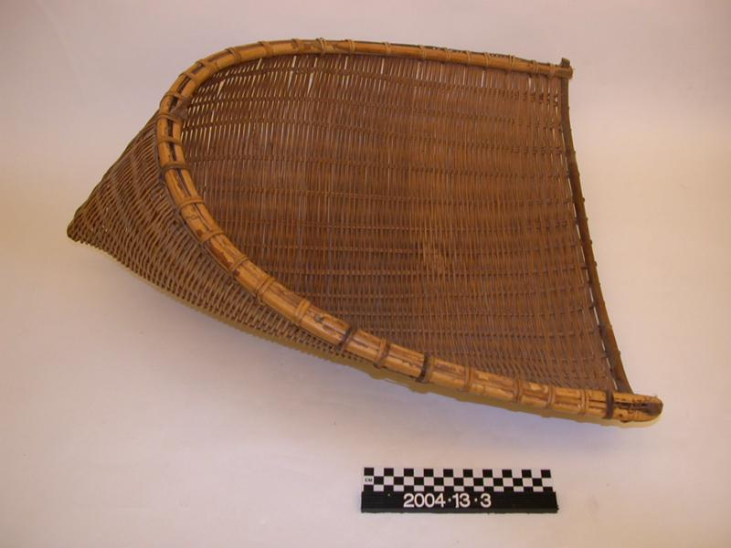 Asian woven scoop