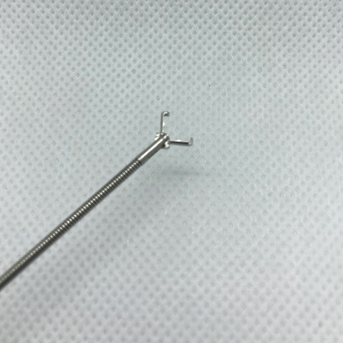 Disposable Cystoscopy Rat Tooth Grasping Forceps 1 7mm