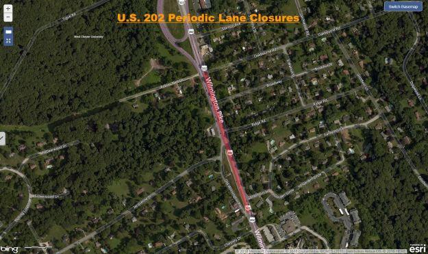 US 202 Periodic Lane Closures Chester County.JPG