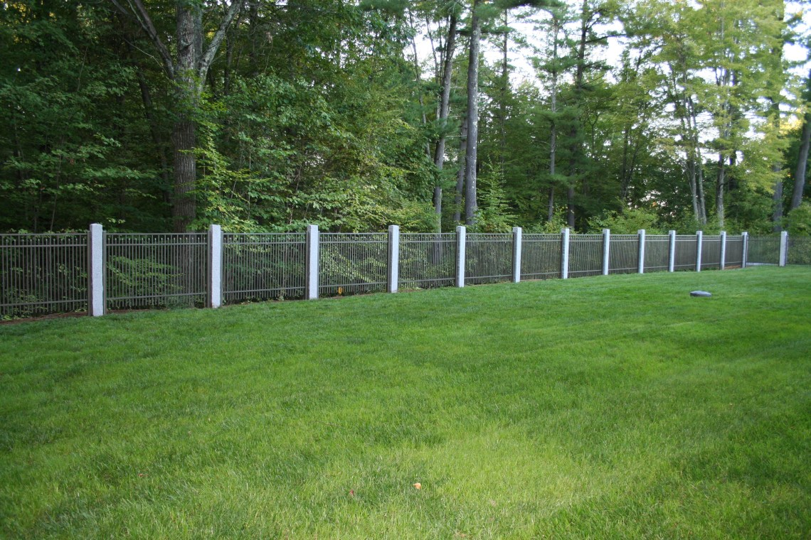 Image Result For Replacing Chain Link Fence With Vinyl