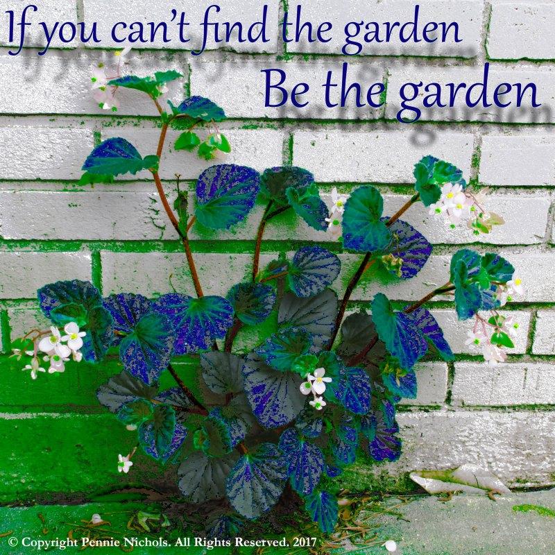 be the garden