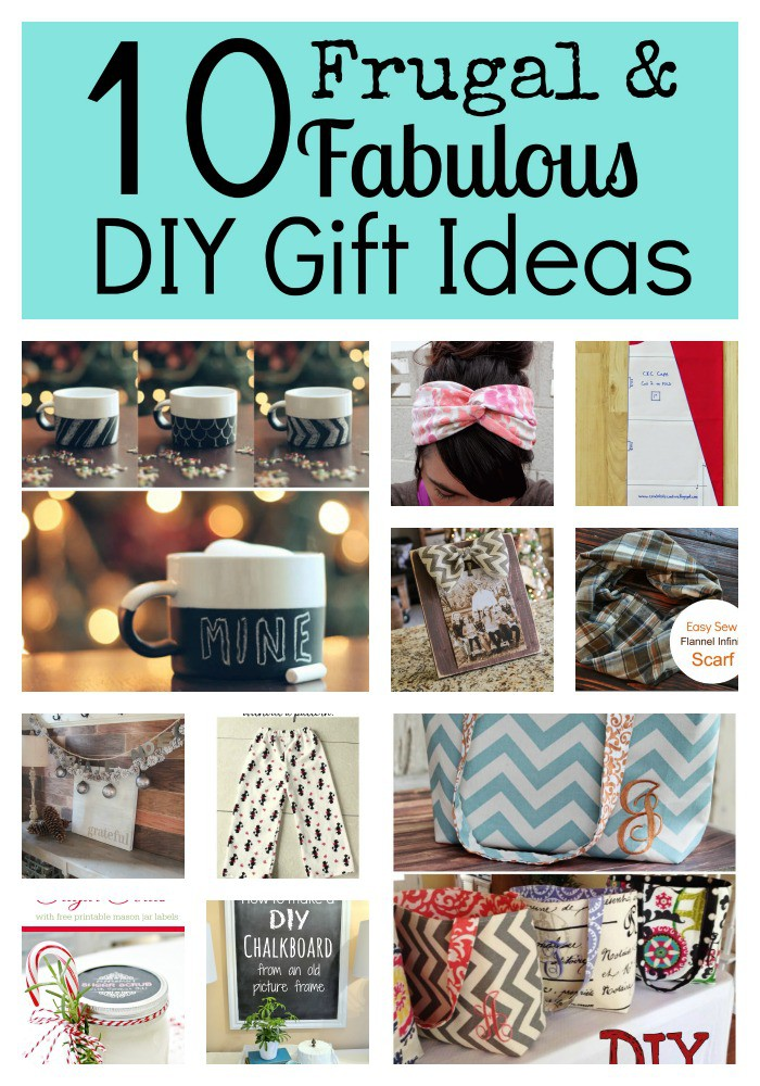 Frugal & Fabulous Gift Collage