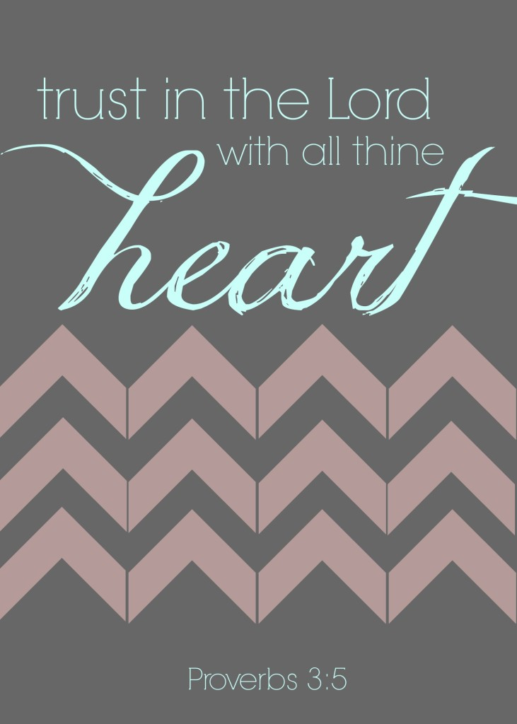 Love Printable Proverbs 3 5