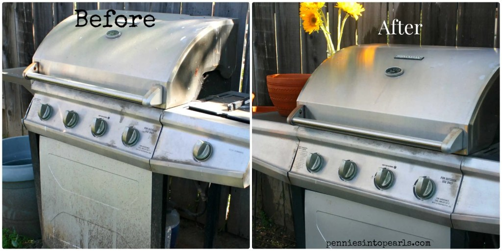 BBQ Cleanup Before & After 2