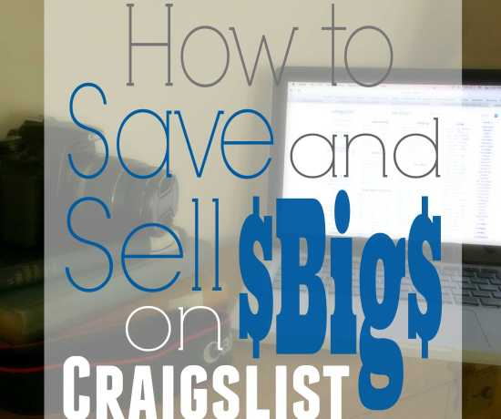 How to Save and Sell Big on Craigslist