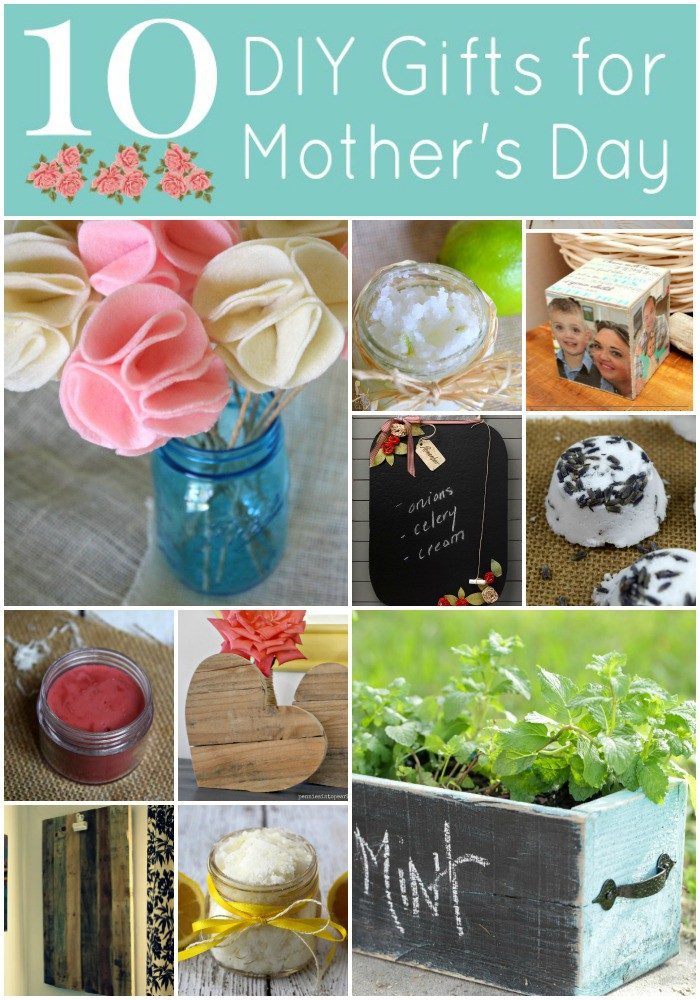 10 DIY Mothers Day Gifts - penniesintopearls.com - thoughtful handmade mothers day gifts that won't break the bank.