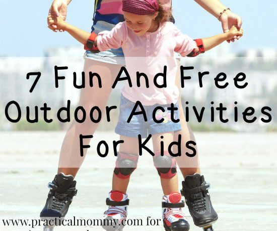 7 Fun and Free Outdoor Activities For Kids - penniesintopearls.com - try out any of these super fun and frugal outdoor activities for kids to keep everyone entertained and enjoying the outdoors.