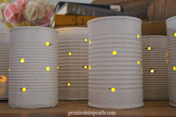 Tin Can Lanterns 1