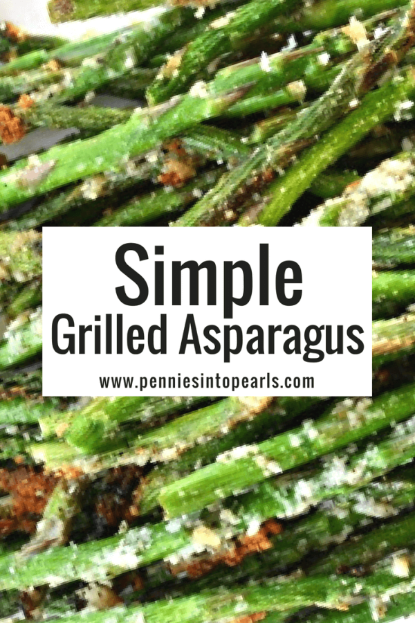 How to make the best tasting grilled asparagus! This is such a simple yet tasty recipe that your BBQ guests are sure to love!