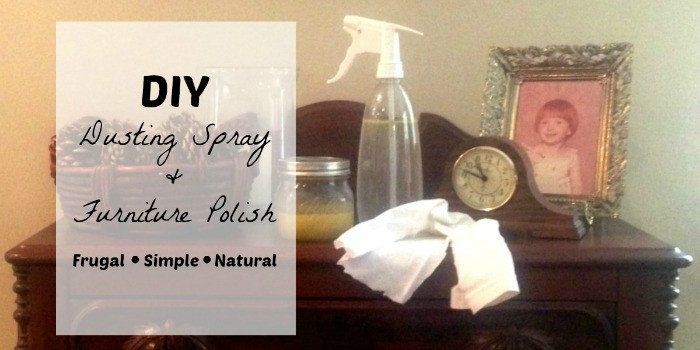 DIY Dusting Spray - penniesintopearls.com - use these two DIY cleaners to get rid of all the chemicals in your home and have a naturally clean home all while saving money!