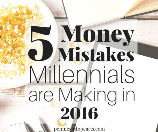5 money mistakes millennials can learn from now so they can be ahead of the game later! A letter of love to my younger siblings to help them learn from my own money mistakes.