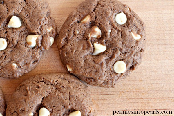Inside Out Chewy Chocolate Chip Cookies - penniesintopearls.com - Just tried this recipe today for inside out chewy chocolate chip cookies and love how moist and chewy they are!