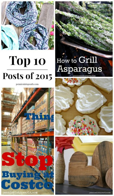 Top Frugal Living Posts of 2015. Gourmet recipes made for cheap, beautiful DIY for pennies, and budgeting tips.