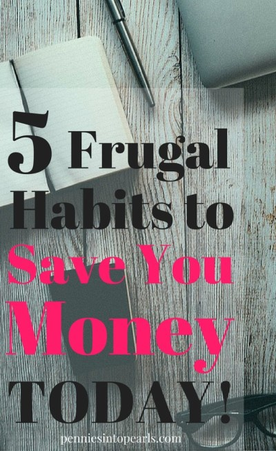 These are real life habits that you can start today that will instantly start saving you money! Tips on how to save money today!