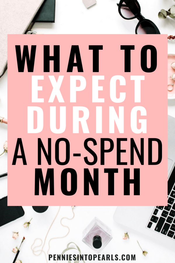 If you're getting ready to try a no spend month then you need to read these tips!! This article helped me learn exactly what to expect when doing a no spend month and it helped me feel completely prepared!