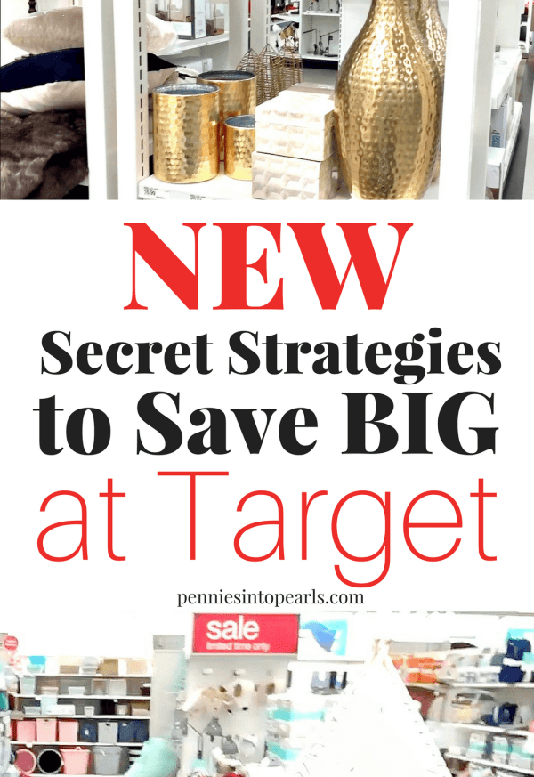 Secret tips exposed on how to take advantage of the NEWEST ways to majorly save on your next trip to Target! You are spending way more than you need if you aren't using these tips on how to save money at Target!