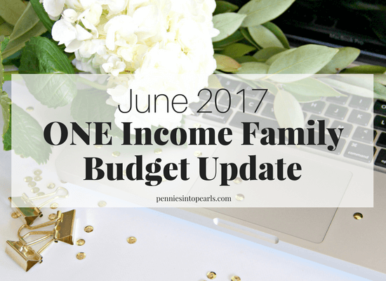 A complete look into real life numbers of our one income family budget update! We had some unexpected changes to our one income budget this month. Here is a look at the REAL LIFE NUMBERS of our middle income family trying to live our dream life in one of the most expensive cities in the United States.
