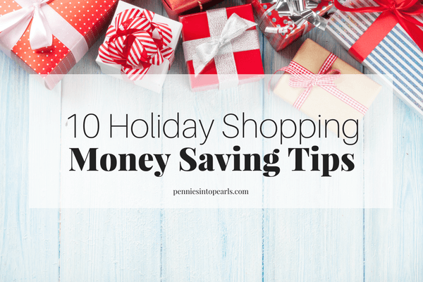 10 Holiday Shopping Money Saving TIps Every Mom Needs to Know!