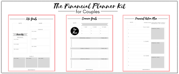 In just one week, complete this step by step guide to getting your spouse on board with budgeting in 5 EASY STEPS! Want to know how to get on the same page with your spouse when it comes to talking money? It can be super tricky to navigate talking about money with your spouse but when you follow these five proven steps you will get on the same page!