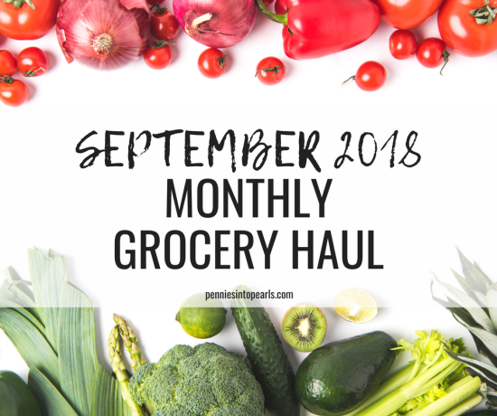 December 2018 Meal Plan & Grocery Haul - Freezer Cooking for