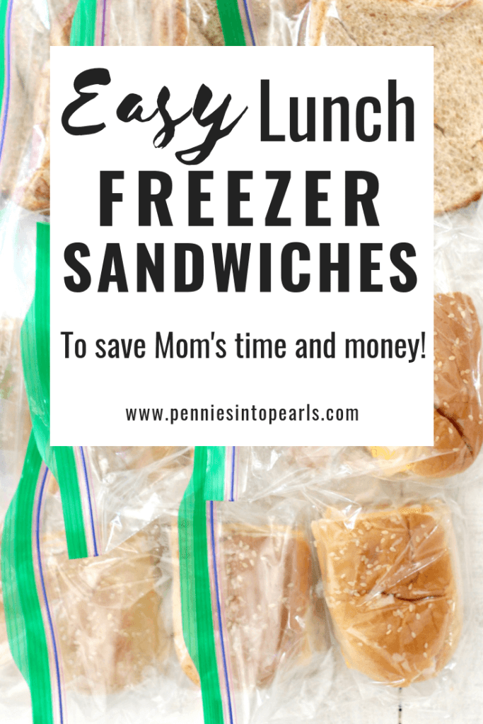 Stop making sandwiches every day! Having a supply of lunch freezer sandwiches on hand in the freezer is going to make your lunchbox prep a no brainer! Easily making a batch of sandwiches is the best idea for lunch freezer meals to help save money and time.