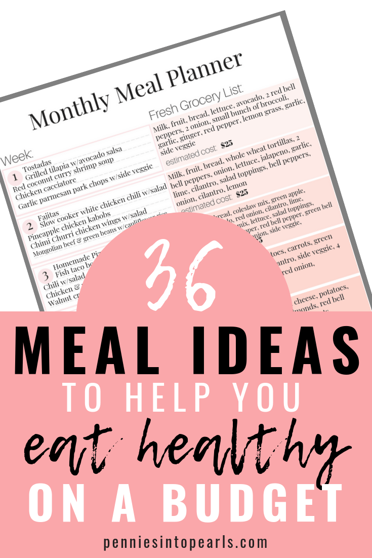 Helping Your Family Eat Healthy Is About To Get A Lot Easier FREE PRINTABLE MEAL