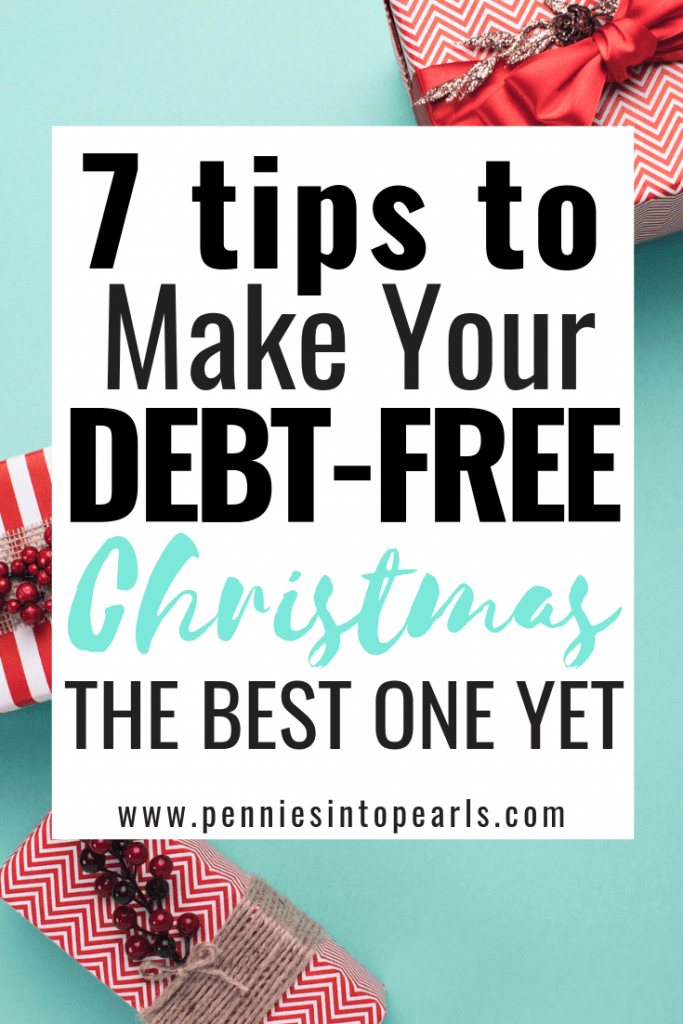 7 strategies to make Christmas on a budget magical! You don't need to go into debt to give your family an amazing Christmas! This is what you can do to have an awesome Christmas on a budget every year!
