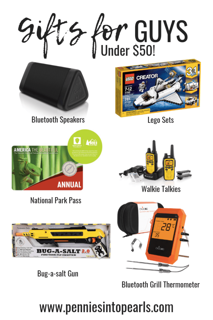 Let me help you figure out gift ideas for your guy! This gift guide for guys is full of unique and thoughtful gift ideas that the guys in your life aren't going to have to pretend they like. They will sincerely be stoked once they open it up! Not to mention, these are all very affordable gift ideas with nothing costing over $50! Need some gift ideas for this Christmas? You're gonna want to watch this!