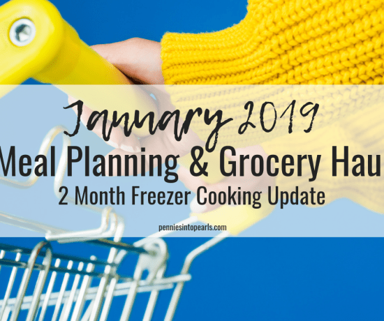 This month's grocery haul is very different from normal! Because I made and shopped for all meals last month, I don't have any meal prep groceries to buy this month (other than fresh). You won't believe how much money we saved by prepping our freezer meals this way!