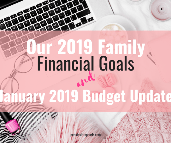 Getting back on track after the holidays is HARD! The crazy thing is that it doesn't stress me out at all! Starting a family budget doesn't have to be restrictive! See how our family learns to budget every month.