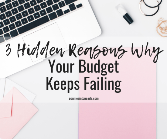 When budgeting for beginners it can quickly become overwhelming and you find yourself feeling defeated and a budgeting failure. YOU'RE NOT! Here are five budgeting tips that will help you know how to fix your budget and never fail ever again!