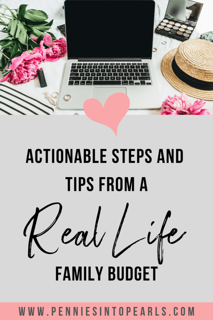 When you are trying to end living the paycheck to paycheck life, there are going to be some hard decisions to be made. Hear from a real life mom all about her real life family budget and how her and her family have worked through this exact thing!