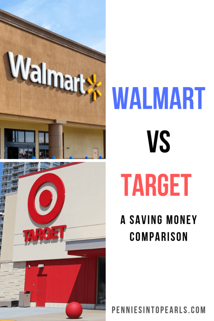 When it comes to Walmart vs. Target where is the best place when it comes to saving money? A side by side comparison of Walmart vs. Target to find out the truths of which store is the best for saving money grocery shopping.