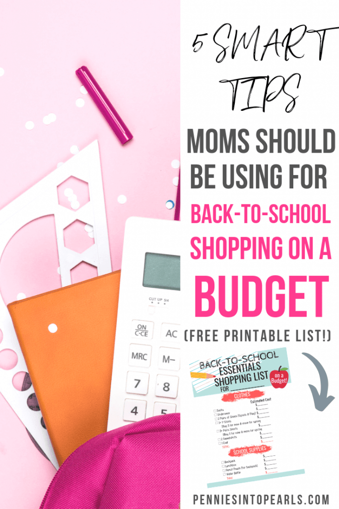 Use these back to school shopping on a budget tips and you can send the kids to class feeling confident that they are fully stocked up with school supplies and ready for a new year of learning! Back to school on a budget doesn't mean going without, these tips will show you how to save money on back to school so you can buy what your kids need.